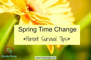 KinderSleep Spring time change