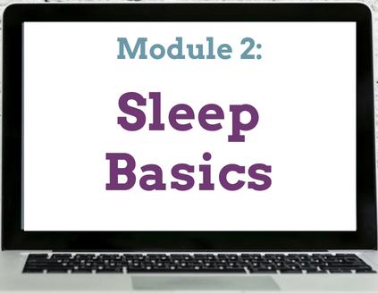 Module 2 Sleep Basics